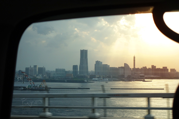 Metropolitan Expressway, Yokohama, Japan, windowscape, fuyunt