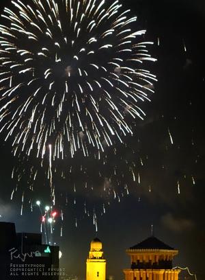 Yokohama Port Festival, Fireworks, fuyunt