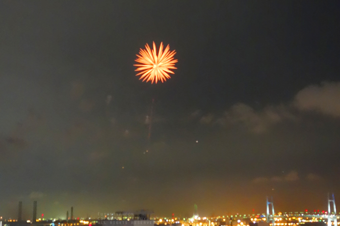 firework, sky, Japan, night, (h)fuyun