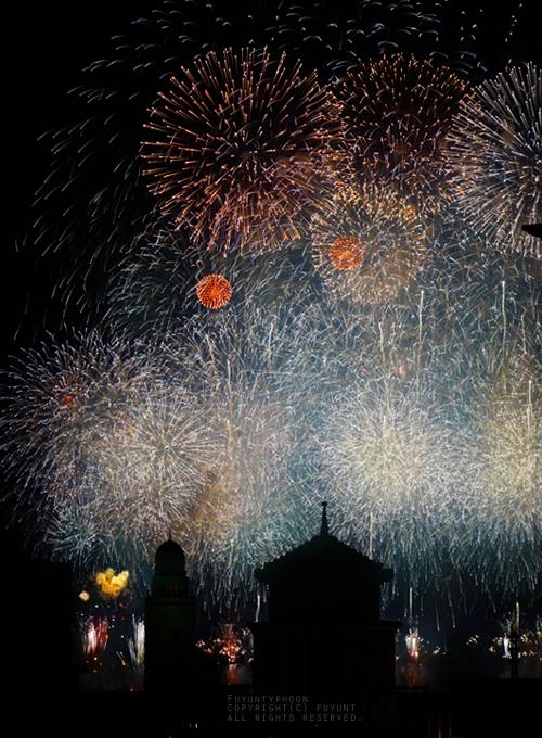 Yokohama, Japan, fireworks, summer 2015, (h)fuyunt